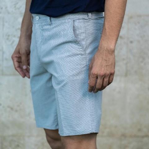 BERMUDA PATA DE GALLO CONFORT