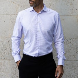 CAMISA FALSO LISO SLIM FIT